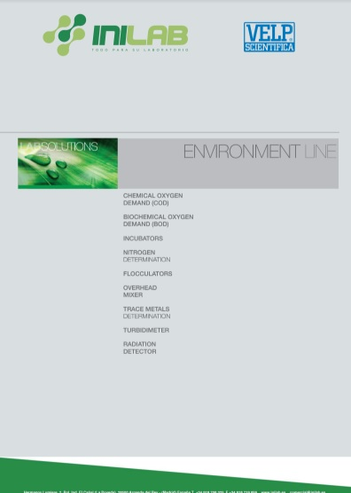 Catalogo Velp Scientifica Enviroment line de INILAB