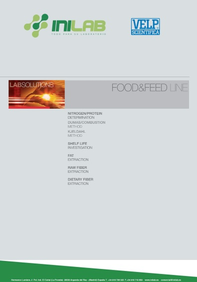 Catalogo Velp Scientifica Food & Feed line de Inilab