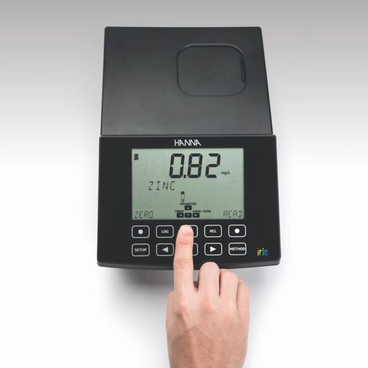 Espectofotómetro visible